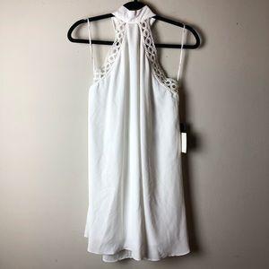Lulu's White Halter Dress